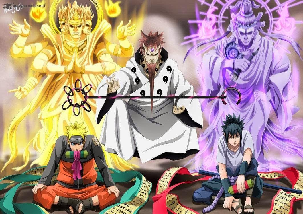 Fondos De Pantalla De Naruto Y Sasuke Para Celular
